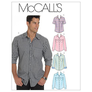 McCalls M6044 Men's Shirts