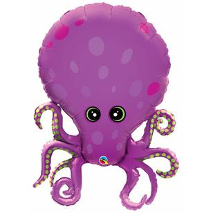 Qualatex Amazing Octopus Foil Balloon