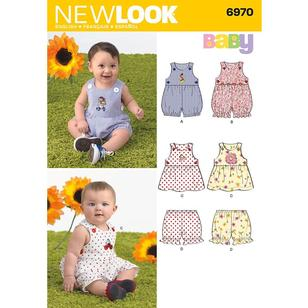 New Look Pattern 6970 Baby Coordinates