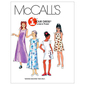 McCall's Pattern M6098 Girls' Dresses In 2 Lengths