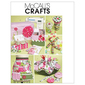 McCalls M6095 Sewing Machine Cover, Apron, Pattern Boxes, Container, Organizer, Pin Cushions & Button Doll  One Size