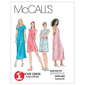 McCall's Pattern M6102 Misses' Dress In 2 Lengths
