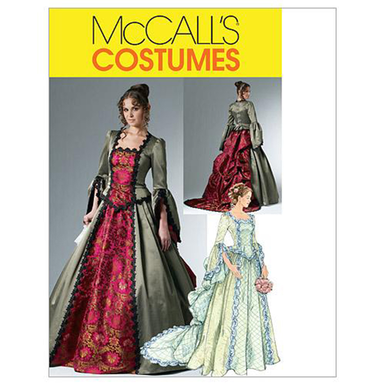 McCall's Pattern M6097 Misses' Victorian Costume