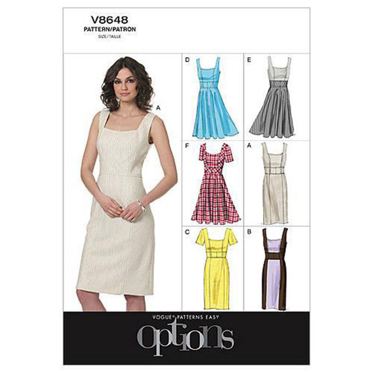 Vogue V8648 Misses' Dress