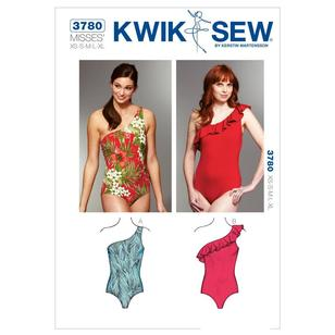 Kwik Sew Pattern K3780 One Shoulder Swimsuits