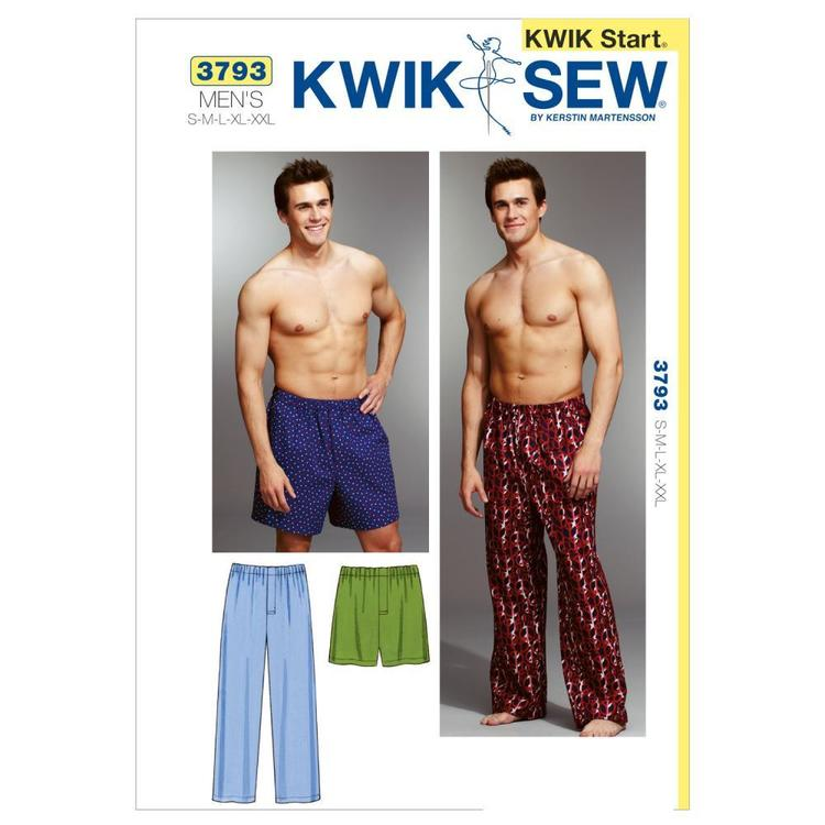 Kwik Sew Pattern K3793 Sleep Pants & Shorts