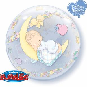 Qualatex Bubbles Baby Shower Balloon