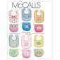 McCall's Pattern M6108 Infants' Bibs & Diaper Covers One Size