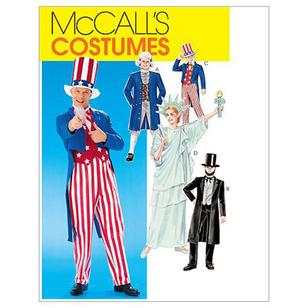 McCall's Pattern M6143 Adults Costumes