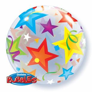 Qualatex Bubbles Brilliant Stars Balloon