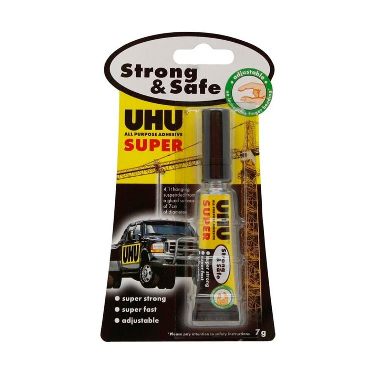 UHU Strong & Safe Glue Clear 7 mL