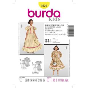 Burda 9529 Kid's Biedermeier Dress