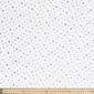 Milky Way Polyester Net 142 cm Fabric White