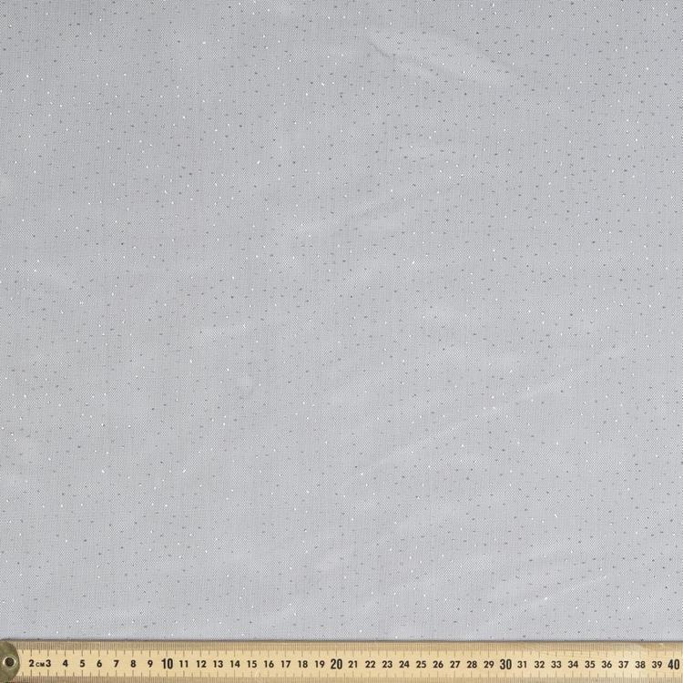 Glitzy Polyester Net 148 cm Fabric