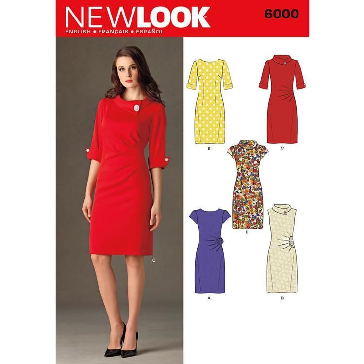 New Look Pattern 6000 Women's Dress