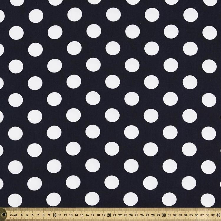 Spots 114 cm Montreaux Drill Fabric