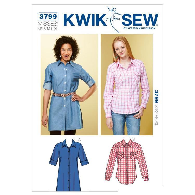 Kwik Sew Pattern K3799 Shirts
