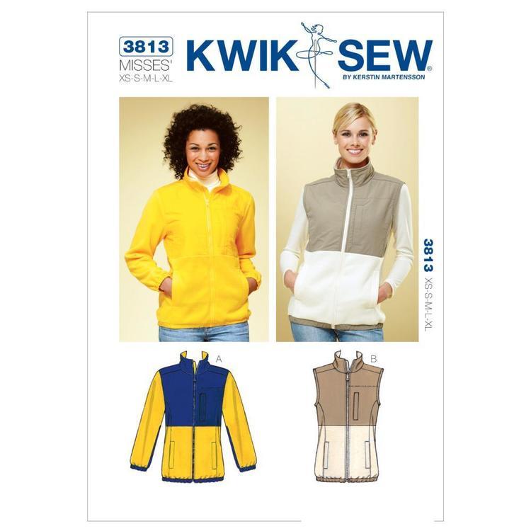 Kwik Sew Pattern K3813 Jacket & Vest