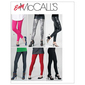 McCall's M6173 Miss Petite Pants & Leggings