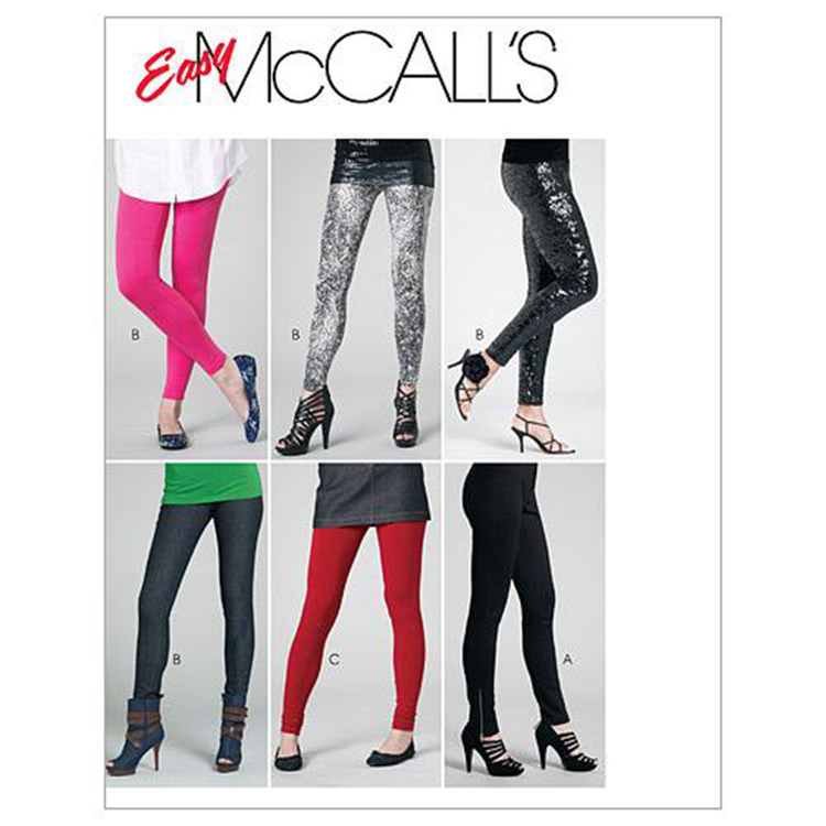 McCall's Pattern M6173 Miss Petite Pants & Leggings