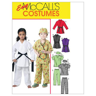McCalls M6184 Kids' Costume