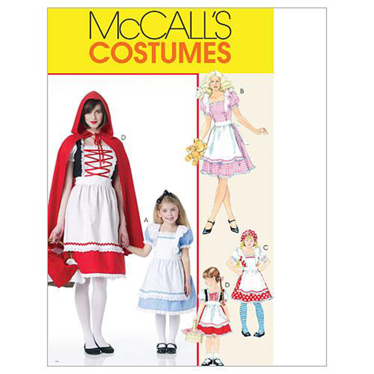 McCall's Pattern M6187 Girls' Storybook Costumes