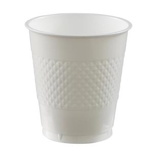 Amscan White Plastic Cups
