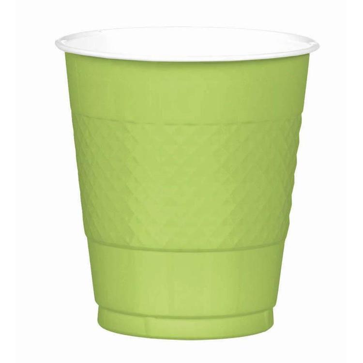 Amscan Kiwi Plastic Cups
