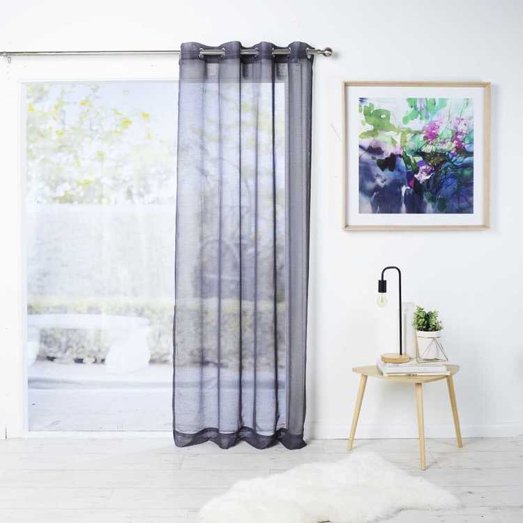 Filigree Rivet Eyelet Curtain