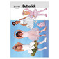 Butterick 5545 Children's & Girls' Leotards, Skirts, Bag and Ponytail Holder