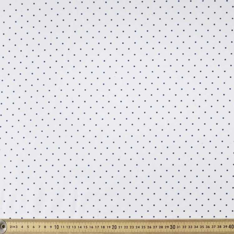 Pinspot Printed 110 cm Flannelette Fabric