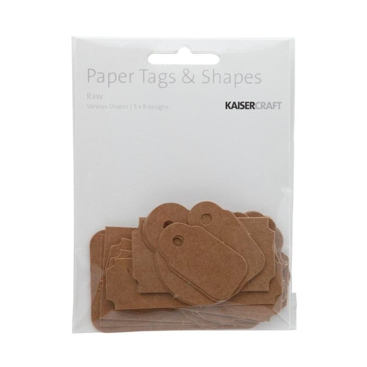 Kaisercraft Raw Tag Pack Raw