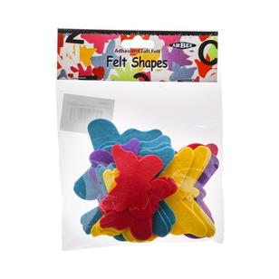 Arbee Adhesive Butterfly Felt Shapes