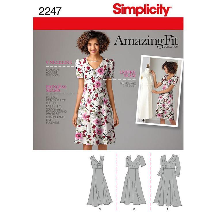 Simplicity Pattern 2247 Women's Dress