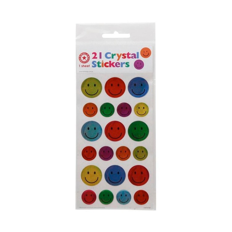 World Greetings Crystal Smileys Stickers