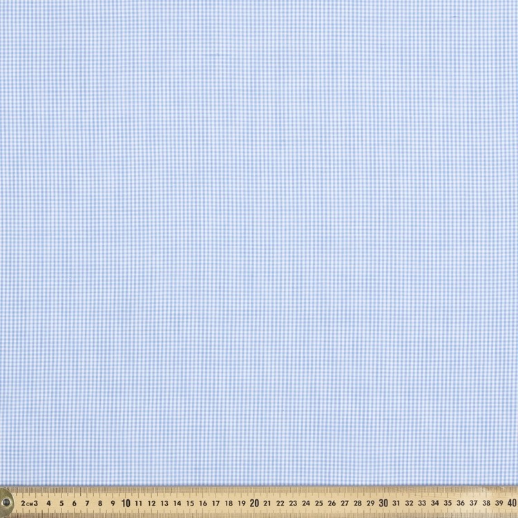 1/16 Inch Wide Gingham 148 cm Poly Cotton Fabric