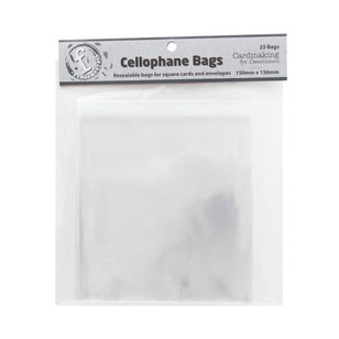 Fundamentals Square Resealable Bags