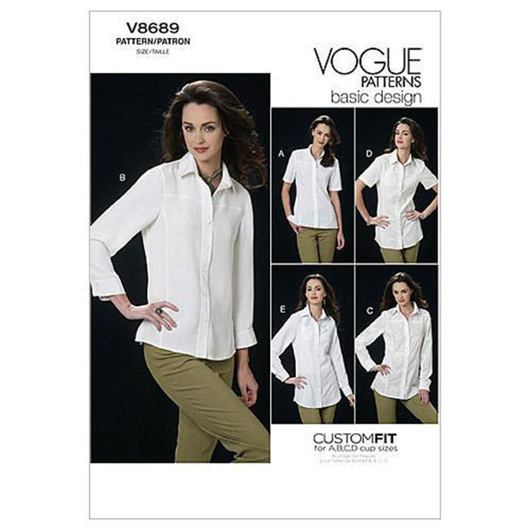Vogue V8689 Misses' Shirt