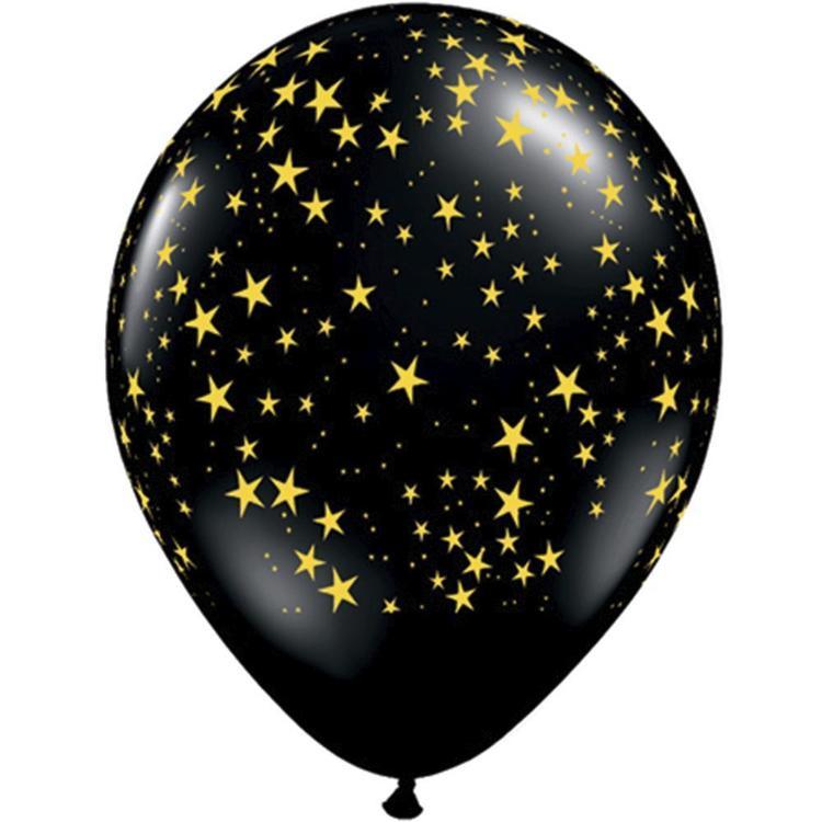 Qualatex Stars Latex Balloon