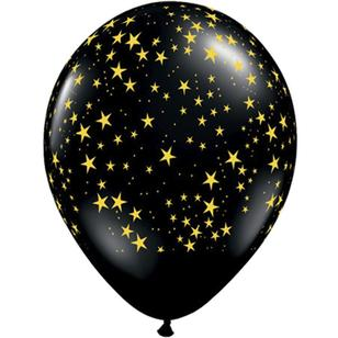 Qualatex Stars Latex Balloon