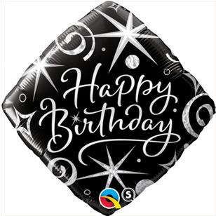 Qualatex Birthday Elegant Sparkles Foil Balloon