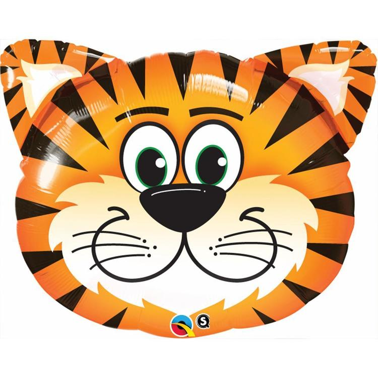 Qualatex Shape Tickled Tiger Foil Balloon