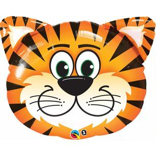 Qualatex Shape Tickled Tiger Foil Balloon