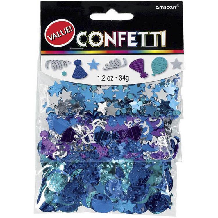 Amscan Birthday Celebration Confetti Triple Pack