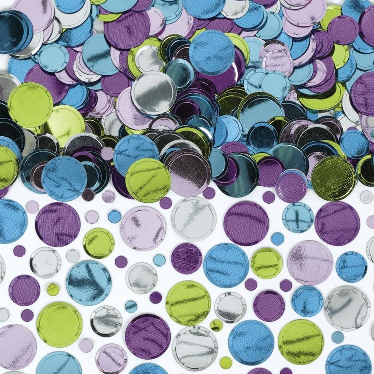 Amscan Pastel Confetti Multicoloured