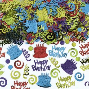 Amscan Assorted Happy Birthday Type Confetti