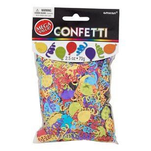 Amscan Party Balloons Confetti