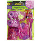 Amscan 48 Piece Fun Fashion Mix Mega Value Pack Hot Pink