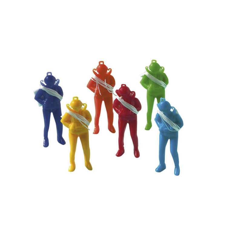 Amscan Hi Count Parachute Men Favours Multicoloured