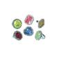 Amscan Hi Count Jewel Ring Favours Multicoloured